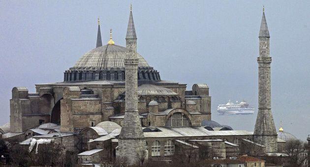 La basílica de Santa Sofía en