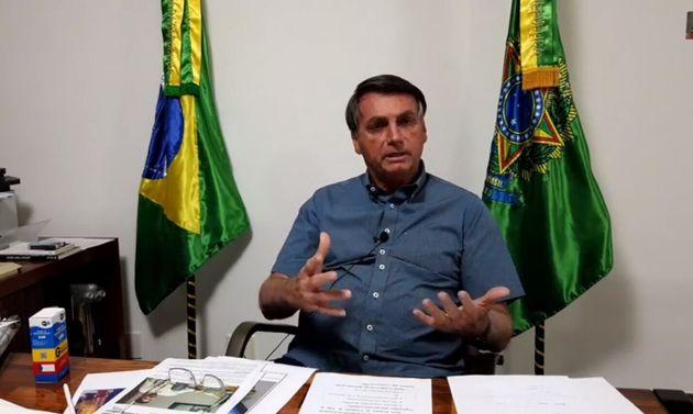 Jair Bolsonaro a indiqué prendre