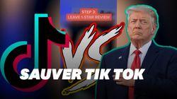 Des TikTokeurs entrent en guerre contre Trump en s'attaquant à son