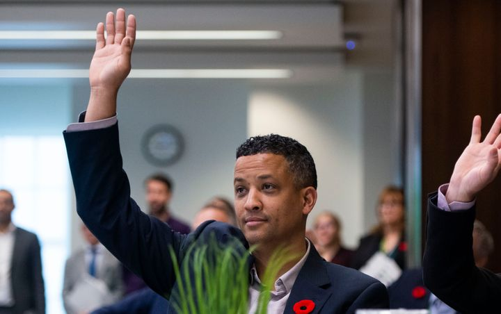 NDP Matthew Green in Ottawa, on Oct. 29, 2019.