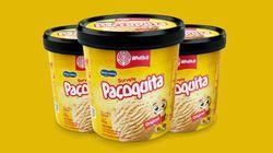 Pode comemorar: Paçoquita ganhou versão em sorvete de