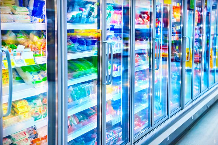 Grocery stores have been stocking up on frozen vegetables as demand surges during the pandemic.
