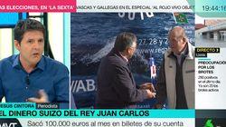 Jesús Cintora define en una rotunda frase las últimas noticias sobre el rey Juan Carlos