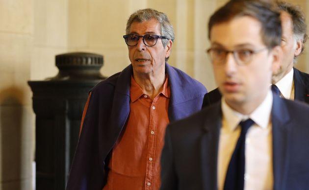 Patrick Balkany, ici à la Cour d'appel de Paris le 27 mai, a obtenu la condamnation de Paris Match...