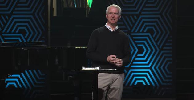 John Ortberg, the senior pastor, completed a