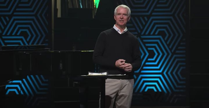 """John Ortberg, the senior pastor, completed a """"restoration plan"""" set up by the church's board after its initial investigation,"""