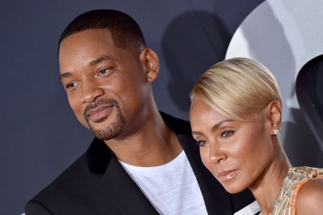 HOLLYWOOD, CALIFORNIA - OCTOBER 06: Will Smith and Jada Pinkett Smith attend Paramount Pictures' Premiere...