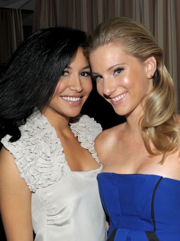 ナヤ・リヴェラさん(左)とヘザー・モリスさん(右)=2010年撮影