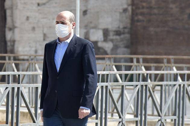 """Nicola Zingaretti: """"Il Pd è pronto a sostenere il gov"""