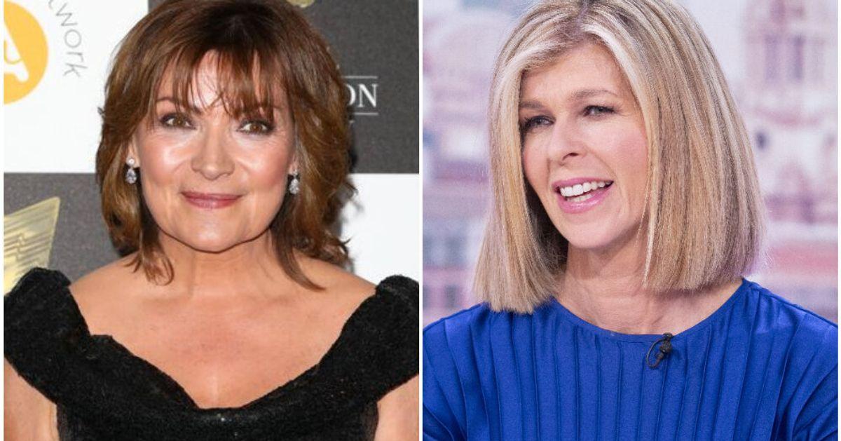 Lorraine Kelly Praises Kate Garraway's Strength In Husband's Covid-19 Battle: 'I'm So Proud Of Her'