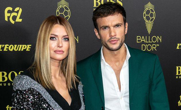 Caroline Receveur et Hugo Philip, ici lors de la cérémonie du Ballon d'or en décembre...