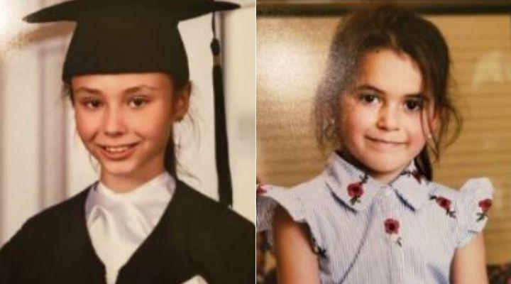 Norah Carpentier, 11 ans, et sa soeur Romy Carpentier, 6 ans.