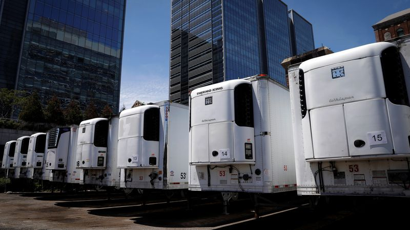 Arizona, Texas Officials Order Morgue Trucks In Latest Sign Of Rising COVID-19 Rates