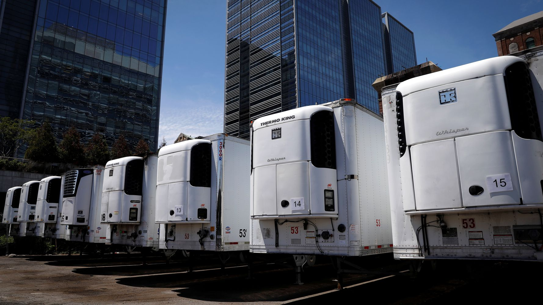 Phoenix, Texas Counties Order Morgue Trucks In Latest Grim Sign Of Rising COVID-19 Rates