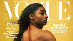 シモーン・バイルスのVOGUE表紙が賛否両論の理由 黒人写真家の起用を求める声