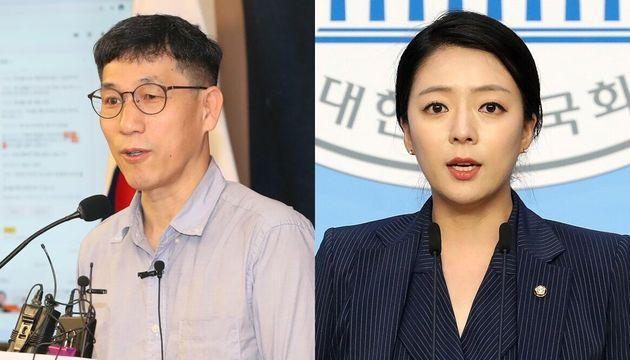 진중권 전 동양대 교수, 배현진 미래통합당