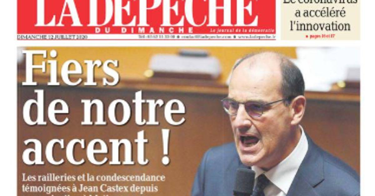 La Dépêche du Midi défend l'accent du Premier ministre Jean Castex | Le  HuffPost