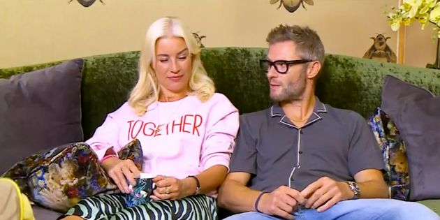 Denise Van Outens First Impression Of Boyfriend Eddie Boxshall Wasnt Exactly Flattering