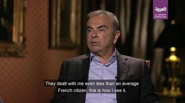 Carlos Ghosn accuse la France de l'avoir