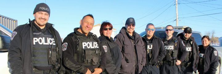 Nishnawbe Aski Police Service is the largest Indigenous police service in Canada.