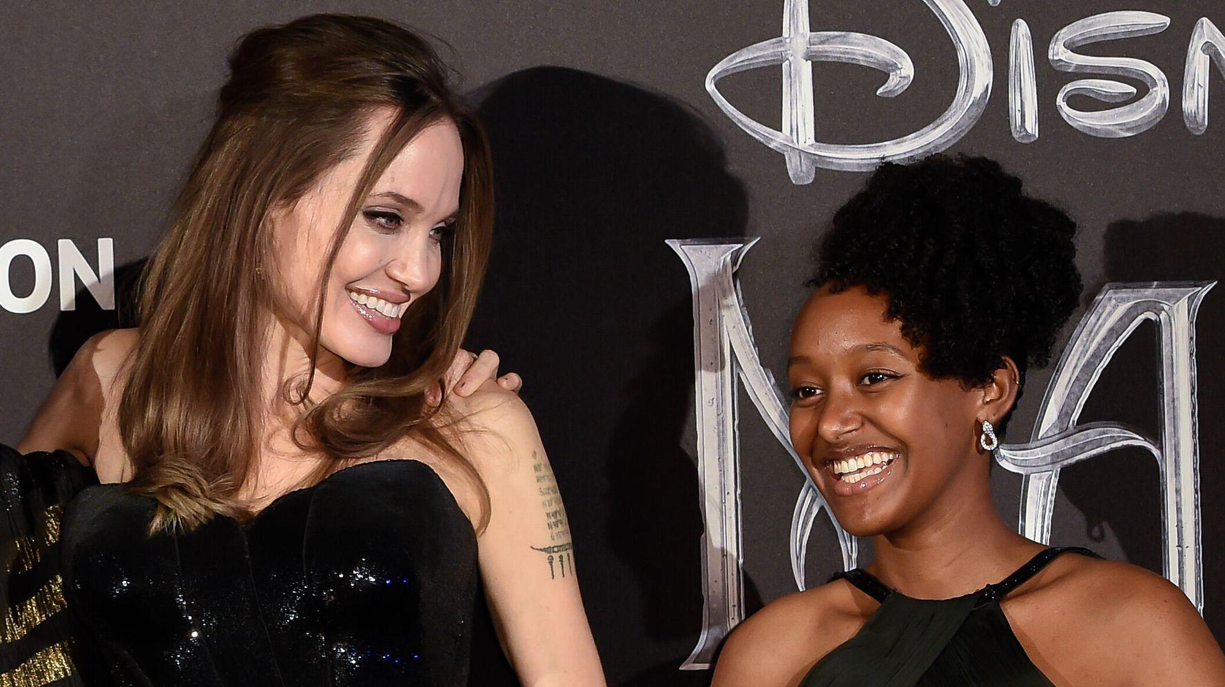 Proud Mom Angelina Jolie Praises Daughter Zahara As 'Extraordinary African Woman'