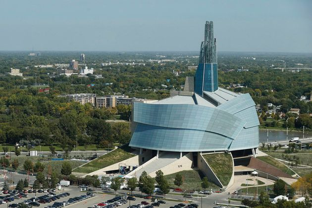 The Canadian Museum For Human Rights is shown in Winnipeg on Sept. 18,