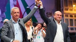 Clara victoria del PNV en Euskadi; Podemos y PP+Cs se desploman y Vox consigue 1