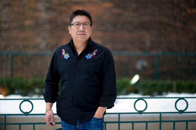 Nishnawbe Aski Nation Deputy Grand Chief Alvin Fiddler is photographed in Toronto on Feb. 14,