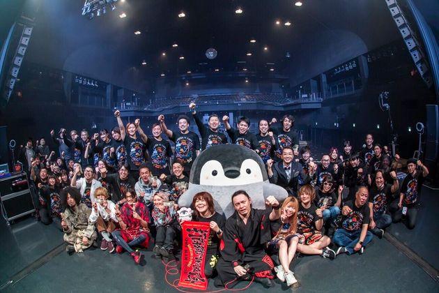 2月29日に東京のライブハウスZepp