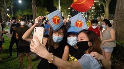 싱가포르 총선에서 사상 처음으로 '야당 바람'이