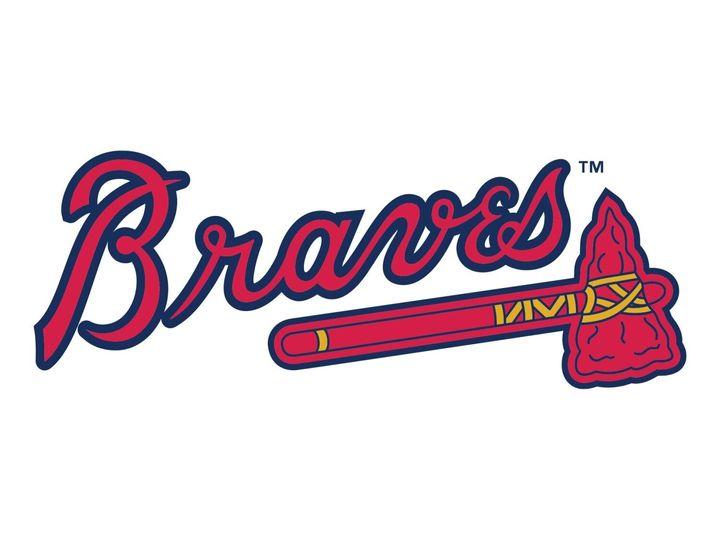 Atlanta Braves logo.