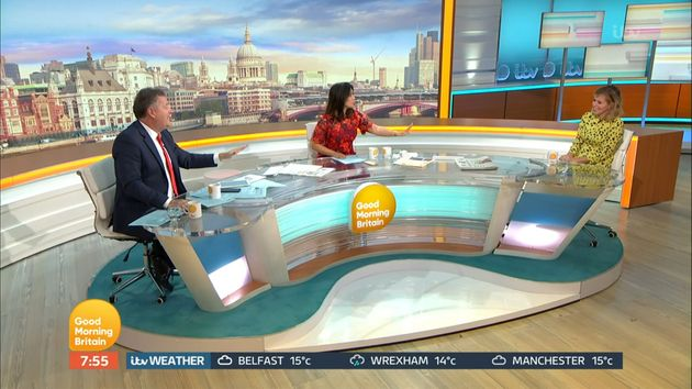 Kate speaks to Piers Morgan and Susanna