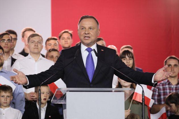 Polonia, Duda vince le