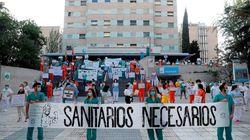 Los MIR madrileños comienzan su huelga para protestar contra la 'explotación' laboral que
