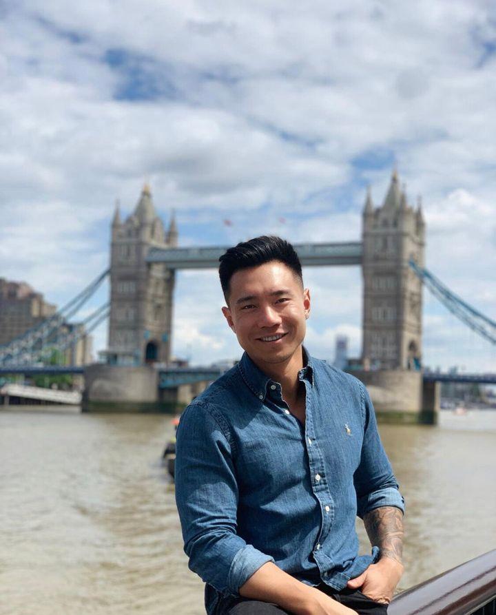 Former 'The Bachelorette' Australia contestant Carlos Fang, aka Carlos Jay F