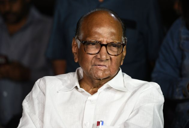 NCP chief Sharad Pawar in a file