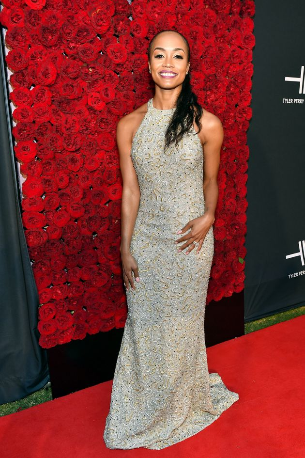 Rachel Lindsay attends Tyler Perry Studios grand opening gala at Tyler Perry Studios on October 05, 2019...