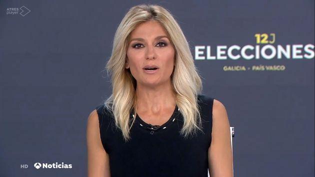 Sandra Golpe, al mando de 'Antena 3