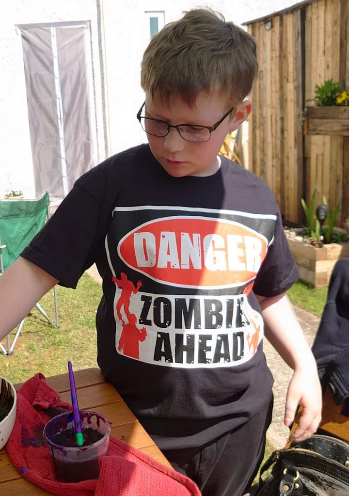 Jenny Hobbs' son Nathan, 12