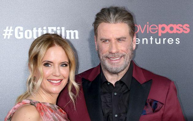 Kelly Preston and John Travolta at the