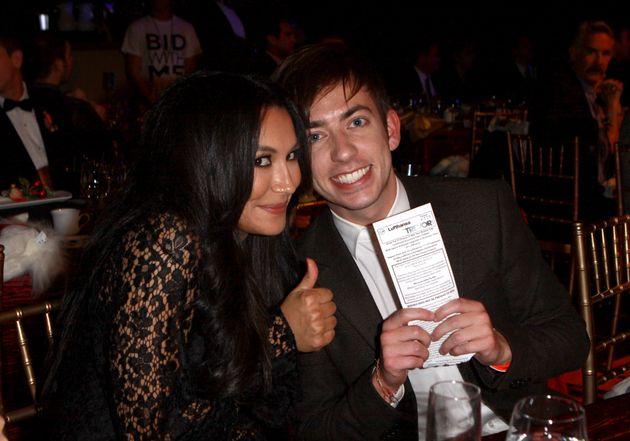 ナヤ・リヴェラさん(左)とケビン・マクヘイルさん(右)=2012年撮影