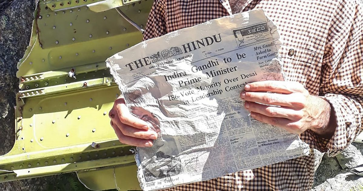 Indian Newspapers Like 'The Hindu' And 'National Herald' From 1966 Found In Melting Glaciers In France