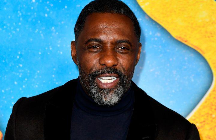 "Idris Elba at the ""Cats"" premiere last year."