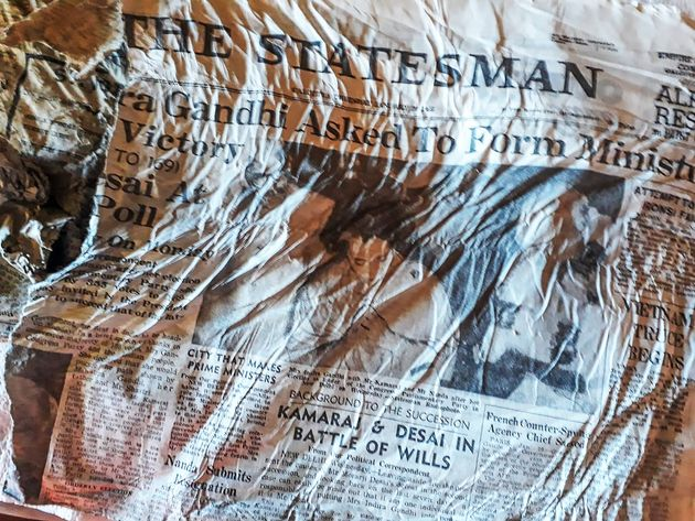 Il ghiacciaio restituisce i giornali dei passeggeri del Boei