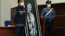 L'Italie restitue le Banksy volé au