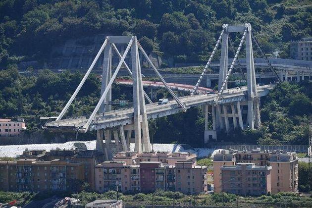 La concatenazione del Ponte Morandi