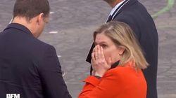 La reacción de una ministra de Francia con lo que le sucedió en su Día