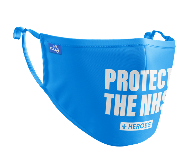 Protect The NHS face cover