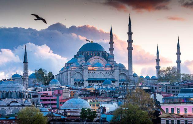 Istanbul the capital of Turkey, eastern tourist
