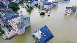 China afronta sus peores inundaciones en